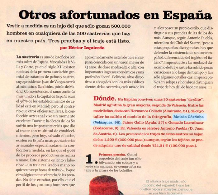 Otros afortunados en España